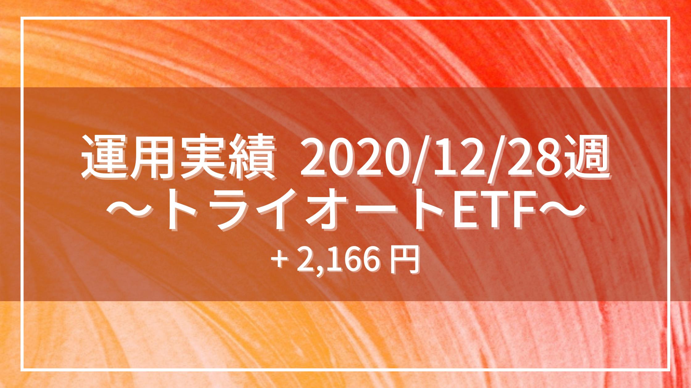 20201228_運用実績_トライオートETF